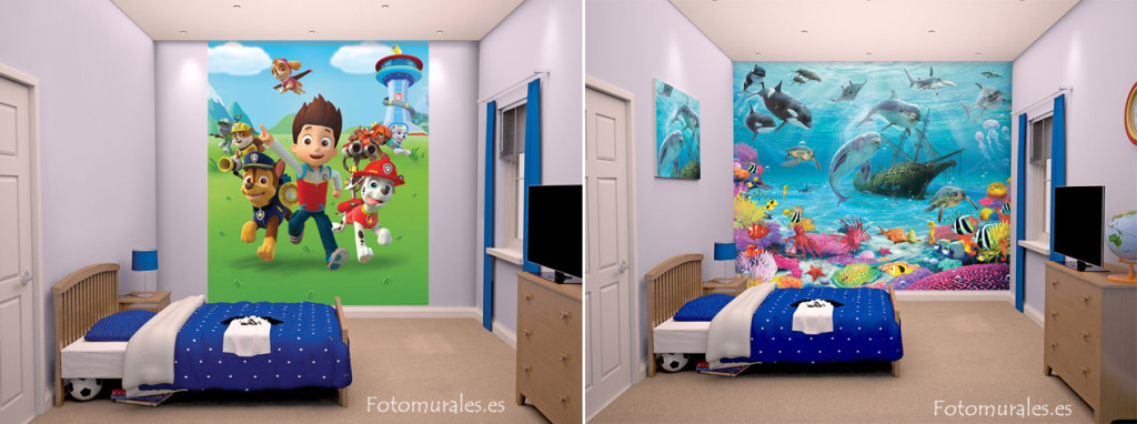 Decoraci n de habitaci n infantil decoraci n de pared - Decoracion paredes habitacion infantil ...