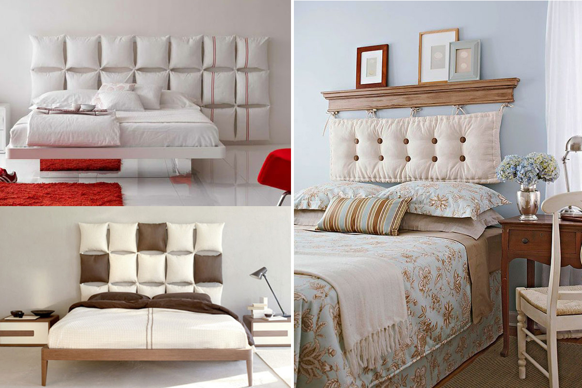 Cabeceros de cama originales para dormitorios con estilo decoraci n de pared - Decoracion pared cama ...
